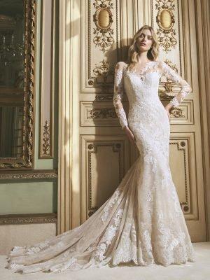 vestido de novia cassie